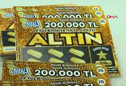 5 liralık Altın Oyun sayesinde 200 bin liranın sahibi oldu