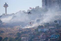 MSBden İzmirdeki yangınla ilgili açıklama: Tamamen kontrol altına alındı
