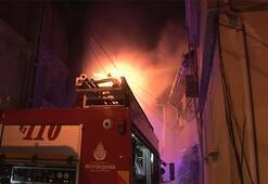 İstanbulda sabaha karşı korkutan yangın
