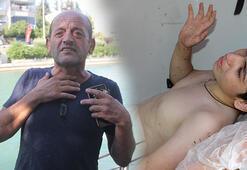 Boğulma tehlikesi geçiren 2 genci kebapçı kurtardı