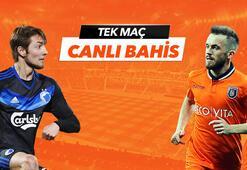FC Kopenhag - Başakşehir maçı Tek Maç ve Canlı Bahis seçenekleriyle Misli.com'da