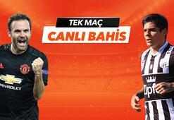 Manchester United -  LASK Linz maçı Tek Maç ve Canlı Bahis seçenekleriyle Misli.com'da