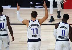 Mavericksli Luka Doncic, NBA tarihine geçti