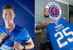 Glasgow Rangerstan iki transfer birden
