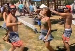 Ceyhun Fersoy ve Begüm Öner'in 'apaçi dansı'