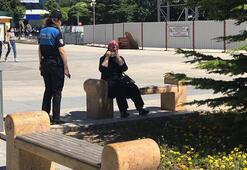 Kırşehirde polis ekipleri maske denetimi yaptı