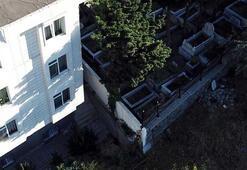 İstanbulda vatandaşlar mezarlık duvarı binamıza doğru kayıyor diyerek yardım istediler