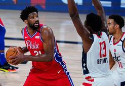 NBAde Embiid coştu, Sixers kazandı
