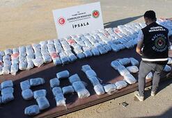 İpsalada operasyon TIRdan 227 kilo esrar çıktı