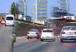 Trafikte makas atan sürücüye bin 228 lira ceza