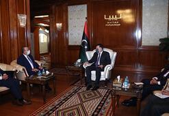 Çavuşoğlu ve Maltalı mevkidaşı Bartolo, Libya Başbakanı Serracla görüştü