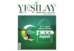 Yeşilay dergisinin kapağında Tülin Şahin imzası