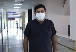Coronavirüsü yenip görevine dönen hemşireye çirkin saldırı
