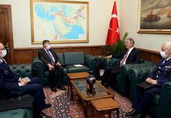 Son dakika... Bakan Akar, ABD Ankara Büyükelçisini kabul etti