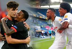 Sevilla ve Bayer Leverkusen, UEFA Avrupa Liginde çeyrek finalde