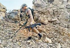 Pençe-Kaplan'da 3 PKK'lı vuruldu