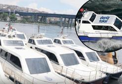 Deniz taksileriyle güvenli ulaşım