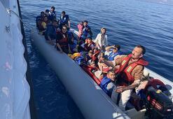 Yunanistanın ölüme terk ettiği 46 kaçak göçmen kurtarıldı