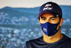 Formula 1 pilotu Perezin koronavirüs testi ikinci kez pozitif çıktı