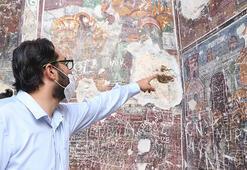 Sümela Manastırıda tahribata dair açıklama geldi