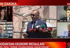 Son dakika: Cumhurbaşkanı Erdoğandan ekonomiye güven mesajı Uzmanlar CNN Türkte yorumladı