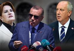 Son dakika: Cumhurbaşkanı Erdoğandan Meral Akşener ve Muharrem İnce yorumu