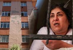 İstanbulda korku apartmanı Görüntüler dehşete düşürdü