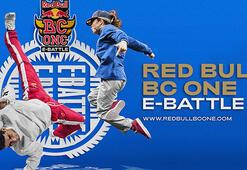 Red Bull BC One E-Battle ile dans pisti evine geliyor