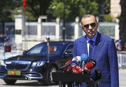 Cumhurbaşkanı Erdoğan Ayasofyada kılınan cuma namazının ardından açıklamalarda bulundu