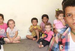 5 gün sonra bulunan 10 yaşındaki  Hüseyin ailesine  kavuştu