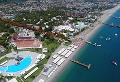 5 yıldızlı otel, sahilde adil paylaşım için yargıya başvurdu