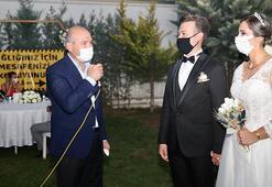 Bakan Soylu düğün salonu denetimine katıldı