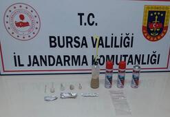 Bursada jandarmadan uyuşturucu operasyonu: 4 gözaltı