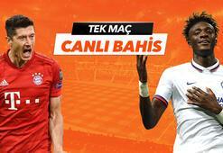 BayernMünih - Chelsea maçı Tek Maç ve Canlı Bahis seçenekleriyle Misli.com'da