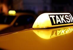 Bindiği takside cehennemi yaşadı Karanlık bir yokuşa park etti