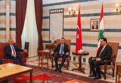 Cumhurbaşkanı Yardımcısı Oktay ve Bakan Çavuşoğlu Lübnanda