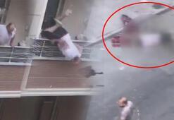 Akrabasıyla tartışırken dengesini kaybetti Balkondan düştü