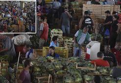 Son dakika: Korona pazarı Ne maske ne mesafe...