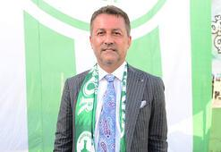 Giresunsporda yeni başkan Hakan Karaahmet oldu