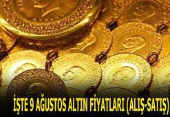 Altın fiyatları 9 Ağustosta ne kadar oldu Bugün altın alış ve satış fiyatlarında son durum nedir