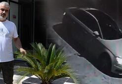 Adana'da şok eden olay Lüks araçla gelip, saksıdaki bitkiyi çaldılar