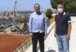 Kasapoğlundan İstinye Ulusal Kamp ve Eğitim Merkezine ziyaret