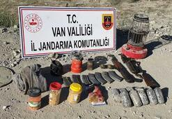 Vanda PKK operasyonunda uyuşturucu ve silah ele geçirildi