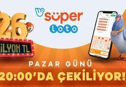 Süper Lotoda büyük ikramiye 26 milyon TL 9 Ağustos Süper Loto çekilişi ne zaman olacak