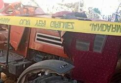 Kiliste traktör devrildi: Sürücü öldü, torunu yaralı