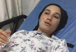 Otobüs kazasında yaralanan kadın o anları anlattı