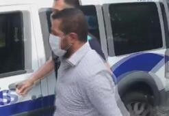 Üsküdarda değnekçilik yapan kişi gözaltına alındı