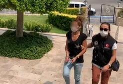 Polis, turist görünümlü zehir tacirini genç kızı otogarda karşıladı