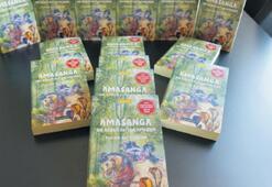 Ödüllü Amasanga okurla buluştu...