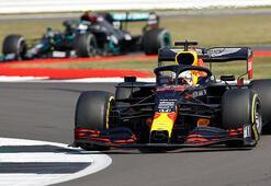 Formula 1 Büyük Britanyada zafer Max Verstappenin